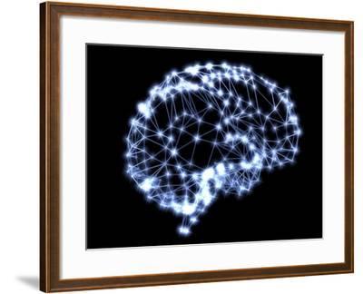 Neural Network-PASIEKA-Framed Photographic Print