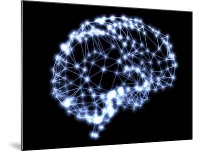 Neural Network-PASIEKA-Mounted Photographic Print