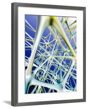Nerve Cells-PASIEKA-Framed Photographic Print