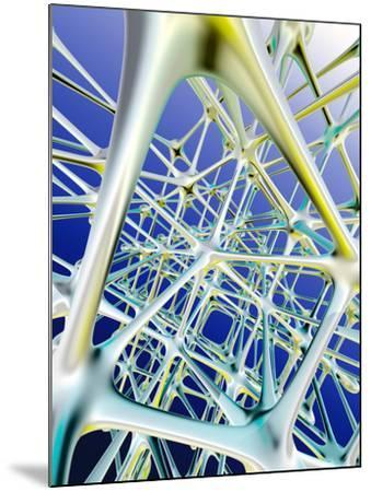 Nerve Cells-PASIEKA-Mounted Photographic Print
