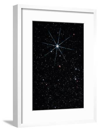 Star Vega In the Constellation of Lyra-John Sanford-Framed Photographic Print