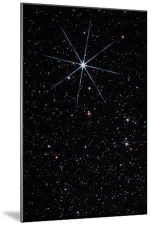 Star Vega In the Constellation of Lyra-John Sanford-Mounted Photographic Print