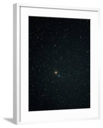 Optical Image of Mars Near the Bright Star Spica-John Sanford-Framed Photographic Print