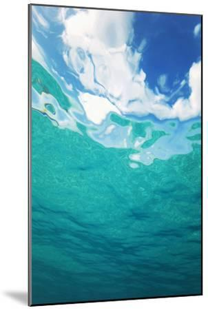 Clouds From Underwater-Peter Scoones-Mounted Photographic Print
