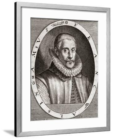 Sir Francis Walsingham, English Statesman-Middle Temple Library-Framed Photographic Print