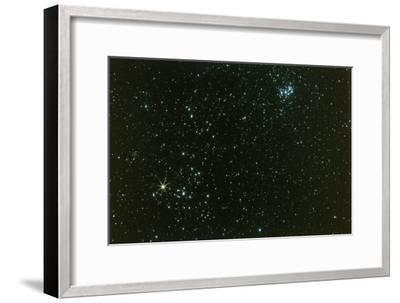 Optical Photo of the Hyades Star Cluster-John Sanford-Framed Photographic Print