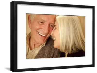 Happy Senior Couple-Science Photo Library-Framed Photographic Print