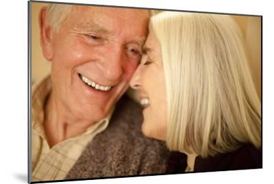 Happy Senior Couple-Science Photo Library-Mounted Photographic Print