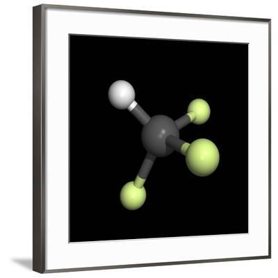 Trifluoromethane Molecule-Friedrich Saurer-Framed Photographic Print