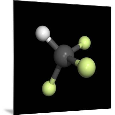 Trifluoromethane Molecule-Friedrich Saurer-Mounted Photographic Print