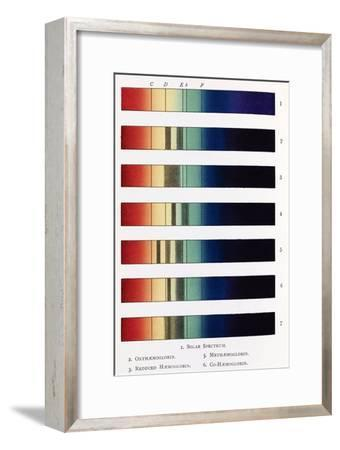 Blood Spectra, 19th Century Artwork-Middle Temple Library-Framed Photographic Print