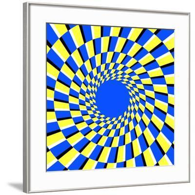 Peripheral Drift Illusion-Science Photo Library-Framed Photographic Print