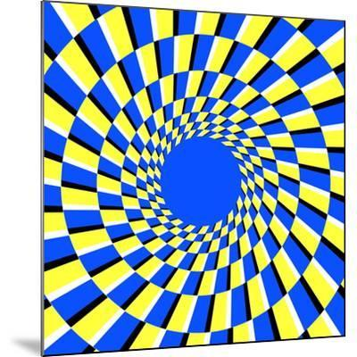 Peripheral Drift Illusion-Science Photo Library-Mounted Photographic Print