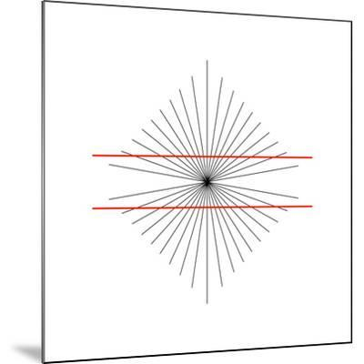 Hering Illusion-Science Photo Library-Mounted Photographic Print