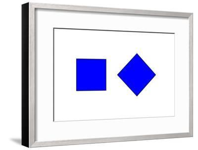 Square Illusion - Orientation-Science Photo Library-Framed Photographic Print