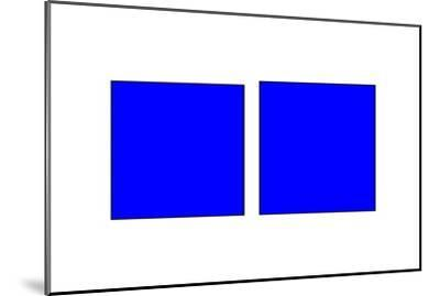 Square Illusion - Vertical Lines Appear Longer-Science Photo Library-Mounted Photographic Print