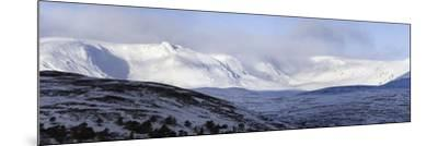 Cairngorms Plateaux, Scotland-Duncan Shaw-Mounted Photographic Print
