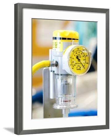 Medical Vacuum Pump-Lth Nhs Trust-Framed Photographic Print