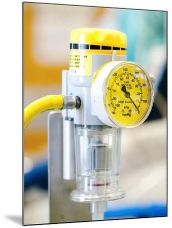 Medical Vacuum Pump-Lth Nhs Trust-Mounted Photographic Print