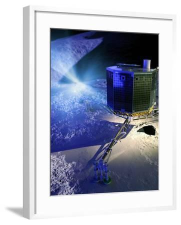 Philae Lander-Detlev Van Ravenswaay-Framed Photographic Print