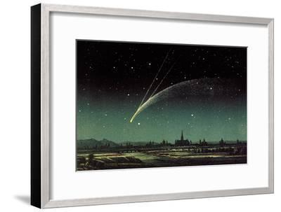 Donati's Comet, 1858-Detlev Van Ravenswaay-Framed Photographic Print