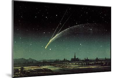 Donati's Comet, 1858-Detlev Van Ravenswaay-Mounted Photographic Print