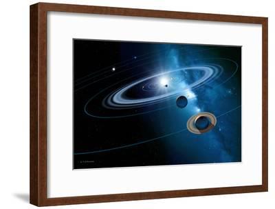 Solar System-Detlev Van Ravenswaay-Framed Photographic Print