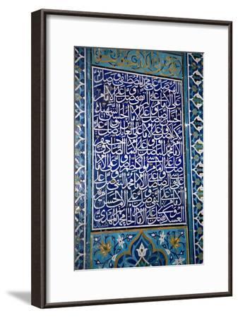 Calligraphic Mosaic, Iran-Dirk Wiersma-Framed Photographic Print