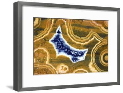 Cut And Polished Jasper-Dirk Wiersma-Framed Photographic Print