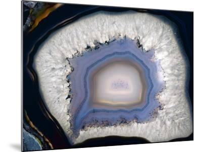 Agate, Artificially Coloured-Dirk Wiersma-Mounted Photographic Print