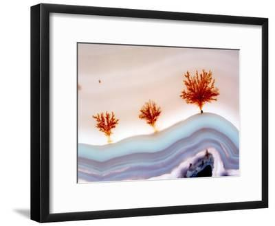 Agate Surface-Dirk Wiersma-Framed Photographic Print