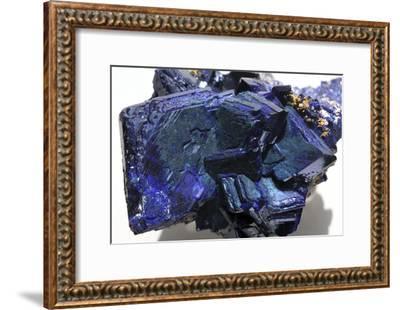 Azurite Crystals-Dirk Wiersma-Framed Photographic Print