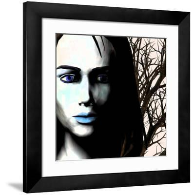 Grief And Depression, Conceptual Image-Stephen Wood-Framed Photographic Print
