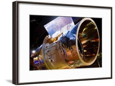 IRAS Infrared Astronomy Satellite-Mark Williamson-Framed Photographic Print