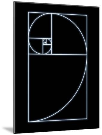 Fibonacci Spiral, Artwork-SEYMOUR-Mounted Photographic Print