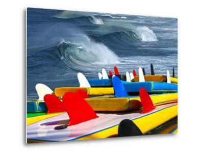 Surf-luiz rocha-Metal Print