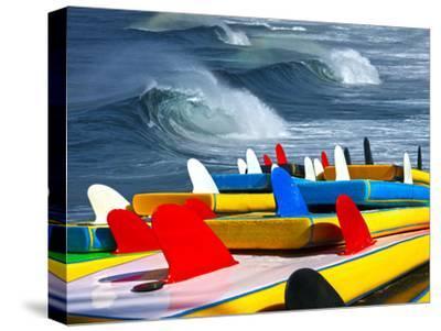 Surf-luiz rocha-Stretched Canvas Print