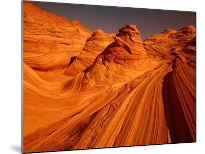 Vermillion Cliffs, The Wave, Grand Staircase Escalante Nationalpark, Arizona, USA-Frank Krahmer-Mounted Photographic Print