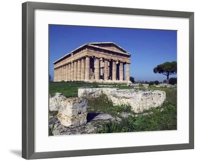 Ruins of the Temple of Neptune-Marco Cristofori-Framed Photographic Print