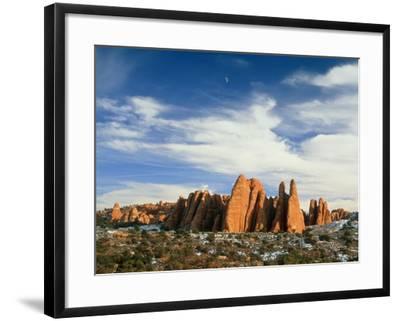 USA, Utah, Arches National Park-Frank Lukasseck-Framed Photographic Print