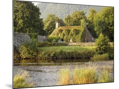 Vine-Covered Stone Cottage Near River Conwy-Richard Klune-Mounted Photographic Print