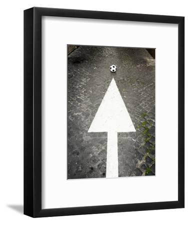 This Way to Soccer-Max Power-Framed Photographic Print