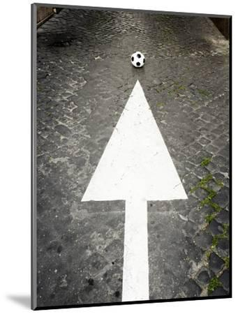 This Way to Soccer-Max Power-Mounted Photographic Print
