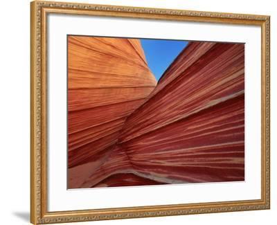 Rock formation, Utah, USA-Theo Allofs-Framed Photographic Print