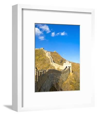 Mutianyu Section of the Great Wall of China-Xiaoyang Liu-Framed Photographic Print