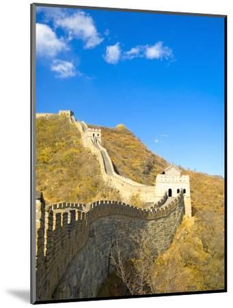 Mutianyu Section of the Great Wall of China-Xiaoyang Liu-Mounted Photographic Print