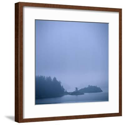 Coastal Islands in Fog-Micha Pawlitzki-Framed Photographic Print