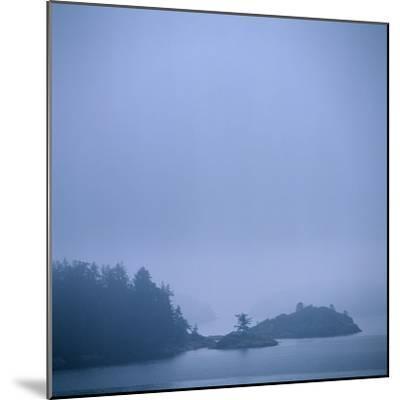 Coastal Islands in Fog-Micha Pawlitzki-Mounted Photographic Print