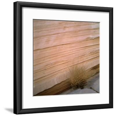 Sandstone Cliff-Micha Pawlitzki-Framed Photographic Print