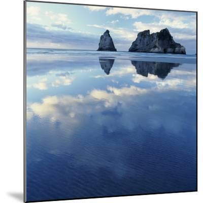 Sea Stacks in Ocean-Micha Pawlitzki-Mounted Photographic Print